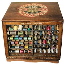 19TH Century Thread Spool Cabinet