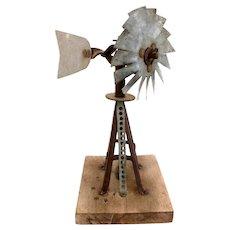 Antique Windmill Salesman Sample - Americana Folk Art