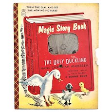 Ugly Duckling Magic Story Book  1955