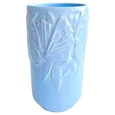Nelson McCoy Art Deco Butterfly Vase Circa 1940s