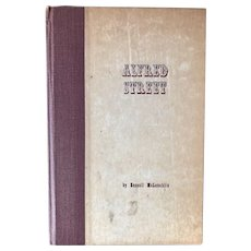 Alfred Street by Russell McLauchlin - 1946 2nd printing - Detroit history book