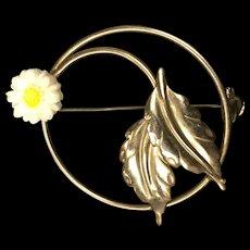 Daisy Circle Pin