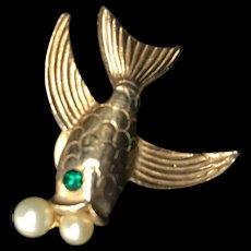 Flying Fish Pin