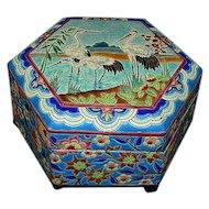 French Longwy Box