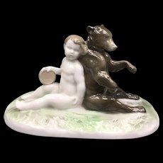 Bear & Child by Ferdinand Lieberman