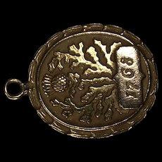 Antique Pendant form 1786 10K Gold