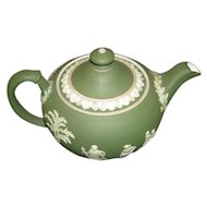 Wedgwood Dark Green Teapot