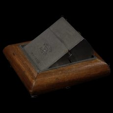 De la Rue traveling inkwell unfolds for easy travel with no mess very RARE