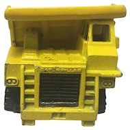 Rare Vintage Hot Wheels 1979 Caterpillar Dump Truck