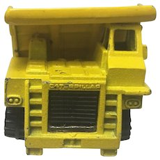 Rare Vintage Hot Wheels 1979 Caterpillar Dump Truck