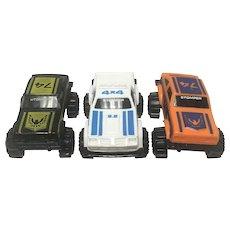 Rare Schaper Stomper Non Motorized Car Set (3)