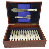 Ellis & Co. Bone Handled Fish Set