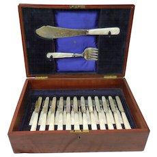 Ellis & Co. Bone Handled Fish Set