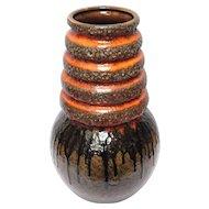 West German Pottery Piece: Fat Lava