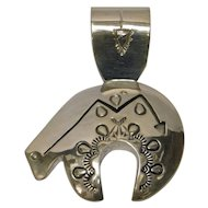 Designer Sterling Silver Pendant by G J Delgarito