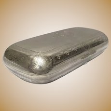 Sterling Silver 19th Century Eyeglass Case