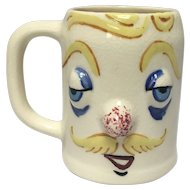 "Handsome Herman ""Muggsy"" Mug From The Pfaltzgraff Pottery Co. Designed by Jessop"