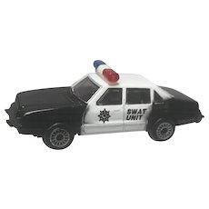 1986 Zee Toys Zylmex Ford LTD Swat Unit Police Cruiser D-82