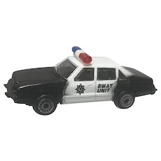 1986 Zee Toys Zylmex Ford LTD Swat Unit Police Cruiser D-82