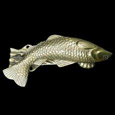 Brass Fish-Shaped Door Knocker