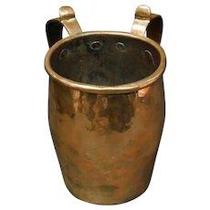 Copper Ceremonial Handwashing Cup - Netilat Yadayim
