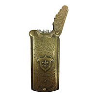 C & J Morton Quadruple Golden Casket Needle Case