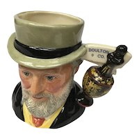 "Vintage Royal Doulton English Toby Jug, model ""Sir Henry Doulton"""