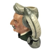 "Vintage Royal Doulton English Toby Jug, model ""Mark Twain"""