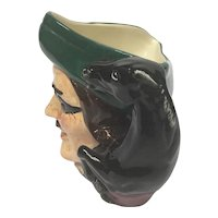 "Vintage Royal Doulton English Toby Jug, model ""Dick Turpin"""