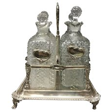 Silver Decanter London 19th Century