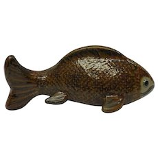 1970 Mexican Catfish Decorative Art Pottery