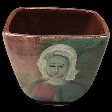 Polia Pillin Rare Women and Horse Vase