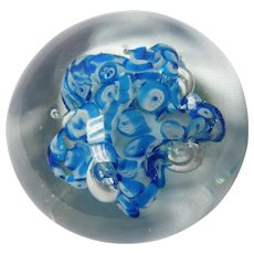 Aquatic Glass paperweight