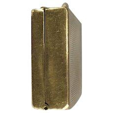 14K Gold Pill Box
