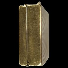 14K Gold Pill Box