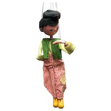 """Pelham Standard Puppet Junior Control Model SS1 """"Dutch Boy"""""""