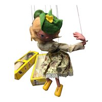 "Pelham Puppets Model SS2 ""Mitzi"" With Original Box and Instructions"
