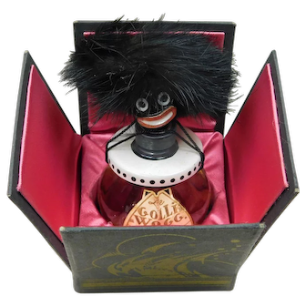 Rare Unopened Golliwog Perfume Bottle with Original Box