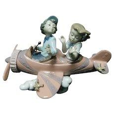 "Lladro Figurine 05698 ""Don't Look Down"" in Original Box"
