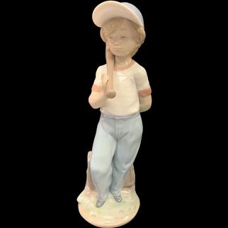 "Lladro Figurine 07610 ""Can I Play?"" in Original Box"
