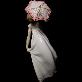 "Lladro Figurine 07636 ""Afternoon Promenade"" in Original Box"