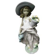"""Lladro Figurine 07676 """"A Wish Come True in Original Box"""