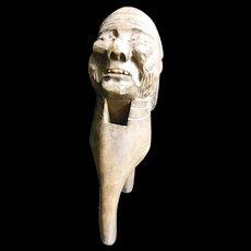 Carved Victorian Pirate Nutcracker