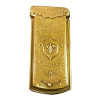 Brass Sewing Needle Case 19th Century