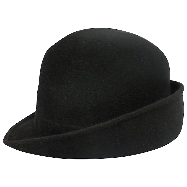 568b258cc585a Vintage Knox New York Men s Bowler Derby Hat In Original Box - 7 1 4   The  Antique Gallery PA