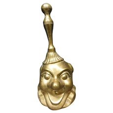 Victorian Brass Clown Handbell