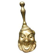 Victorian Brass Clown Handbell