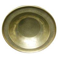 18th Century Brass Chinese Bowl
