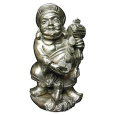 Japanese Sterling Silver Figurine