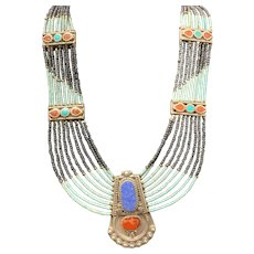Necklace in Navajo Style